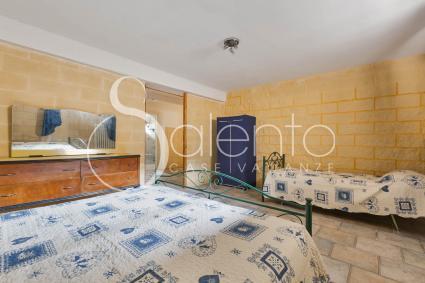 La camera tripla della casa vacanze in affitto nel Salento