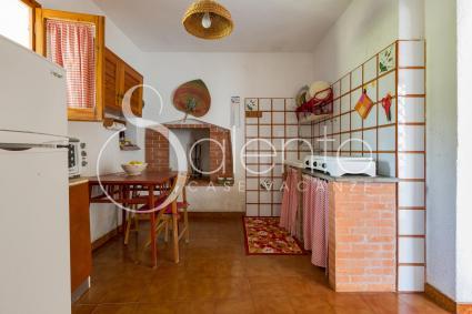 Grazioso ed essenziale, l`angolo cottura della casa vacanze nel Salento
