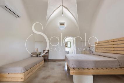 Le volte a stella tipiche delle case storiche del Salento