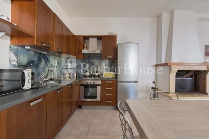 Un grande open space accoglie all`interno della casa vacanze in affitto nel Salento
