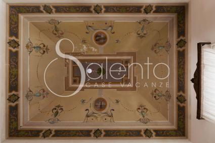 Le particolari volte del palazzo sono accoglienti e rendono gli ambienti preziosi