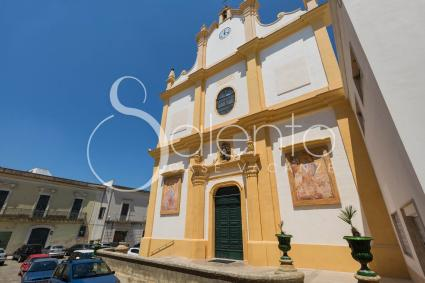 La Chiesa Matrice del borgo, dedicata a S. Giorgio
