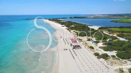 La spiaggia di Lido Marini