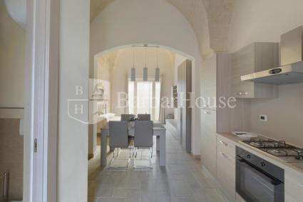 La casa in affitto per vacanze nel Salento è formata da un unico grande ambiente