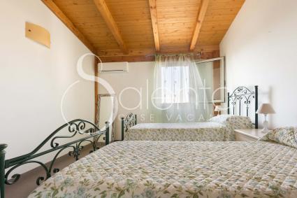 Anche la camera doppia ha aria condizionata e zanzariere