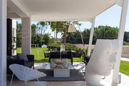 The verandas and terraces are places of maximum relaxation