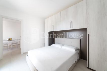 The house is modern and furnished with new and refined furniture