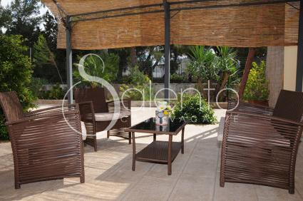 Diverse le aree relax in giardino
