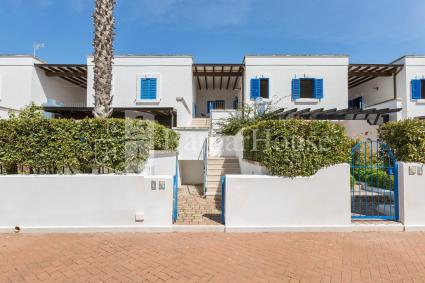 Holiday home for 5 guests in tourist village with swimming pool near Porto Cesareo