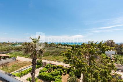 The villa is 150 meters away from the beach