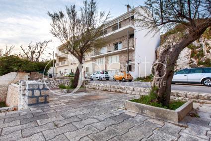Piccolo complesso in cui sorge Mono Ada, a Castro Marina