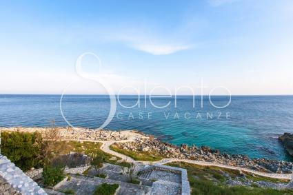 La vista sul mare a cui vi è l`accesso diretto