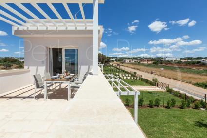 Ferienhaus - Salve ( Leuca ) - Penthousewohnung mit Jacuzzi | Perla Saracena Luxury Suites