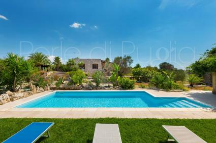 Villa with pool for rent for holidays in Salento, Apulia