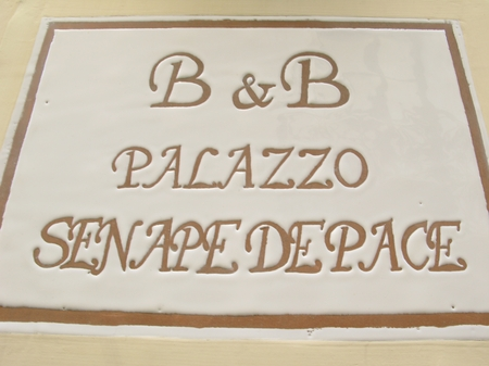 holiday homes - Gallipoli ( Gallipoli ) - B&B Palazzo Senape De Pace