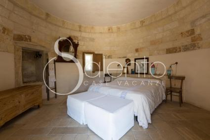 the second master bedroom in the trullo