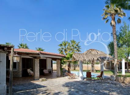 small villas - Mancaversa ( Gallipoli ) - Villa Pergola