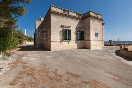 La villa risale alla prima metà del Novecento