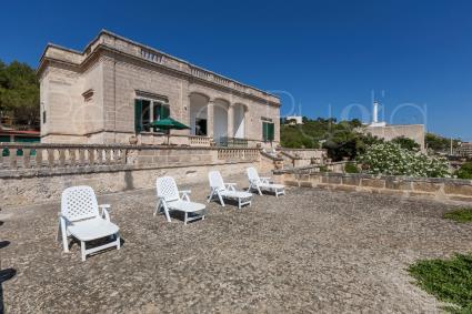 La villa storica per vacanze può ospitare fino a 10 persone